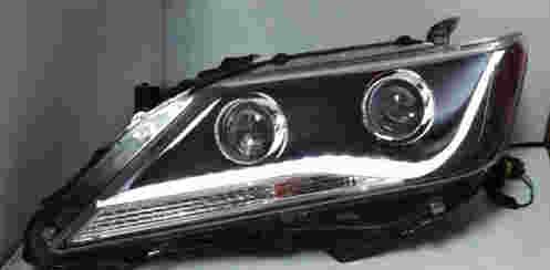 12款凯美瑞改装大灯总成 凯美瑞改装大灯总成 氙气灯大灯