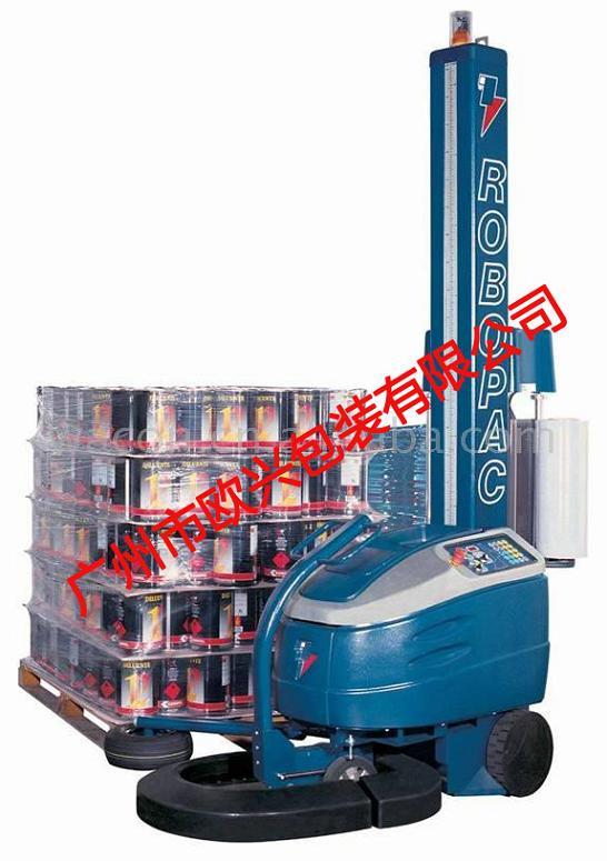 广东地区Robot S6自走式缠绕机,打包机,封箱机