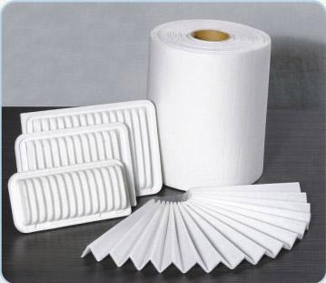 热成型滤清器无纺布厂家、针刺毡、液体过滤材料、玻纤纸、无纺布