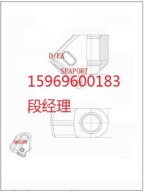 供應采煤刀齒礦用截齒刀座齒座EV25