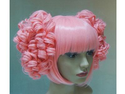 娃娃假发,芭比发丝,洋娃娃发丝,广州丝娅发制品
