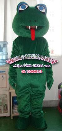 蛇卡通服装