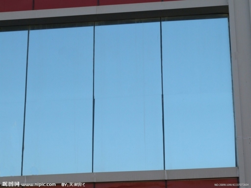 供应厂家批发深加工平板百叶窗钢化玻璃