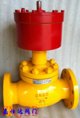 燃气紧急切断阀,QDQ421F氨气紧急切断阀