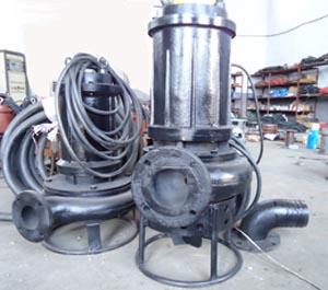 大型搅拌潜水渣浆泵